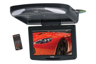 "Sound Storm Lab® - 11.2"" Black Widescreen Flip Down TFT Monitor with DVD"