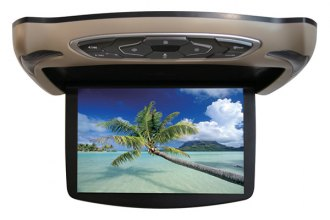 "Sound Storm Lab® - 13.3"" 3 Color Skins Widescreen Flip Down TFT Monitor with DVD"
