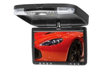 "Sound Storm Lab® - 9"" Black Widescreen Flip Down TFT Monitor with DVD"
