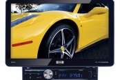 "Sound Storm Lab® - Single DIN Digital Multimedia Receiver with Detachable 10.1"" Touchscreen Monitor and Bluetooth"