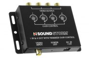 Sound Storm Lab® - Video Signal Amplifier for Multi Monitor Systems