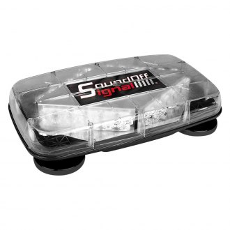 SoundOff Signal® - Magnetic Mount Pinnacle Mini Emergency LED Light Bar