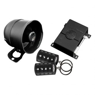 Soundstream® - Tarantula 1-Way Security System and Keyless Entry with 4-Button Remotes
