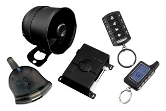 Precision Power® - Tarantula 2-Way Security and Remote Start System 1500 Ft Range With 4-Button and 5-Button LCD Remotes