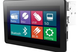 "Soundstream® - Single DIN AM/FM/DVD/MP3/USB Receiver with 10.3"" Touchscreen, LCD Monitor and Bluetooth"