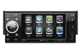 "Soundstream® - 5.3"" Single DIN Indash Receiver LCD Touchscreen and TV Tuner"