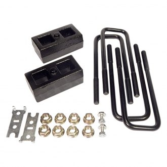 "Southern Truck® - 2"" Tapered Rear Lifted Blocks and U-Bolts"