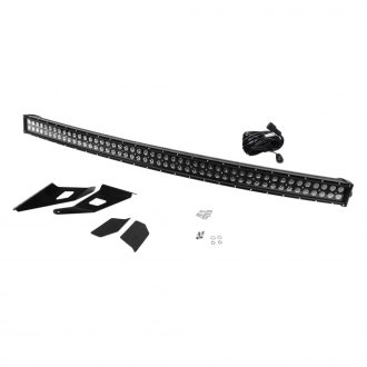 "Southern Truck® - Roof Mounted Black-Out 54"" 312W Curved Dual Row Combo Beam LED Light Bar Kit"