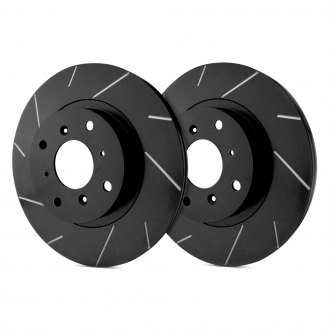 SP Performance® - Slotted Vented 1-Piece Front Brake Rotors