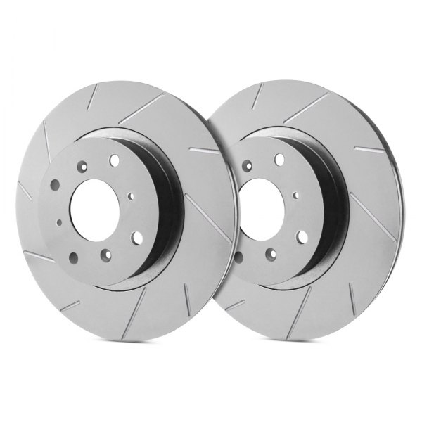 SP Performance® - Slotted 1-Piece Front Brake Rotors