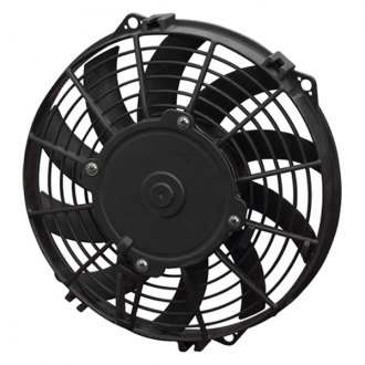 SPAL Automotive® - 9'' Low Profile Puller Fan with Curved Blades, 24V