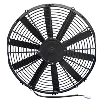 "SPAL Automotive® - 16"" Low Profile Puller Fan with Straight Blades, 24V"