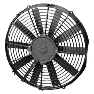 SPAL Automotive® - Low Profile Puller Fan with Curved Blades, 12V