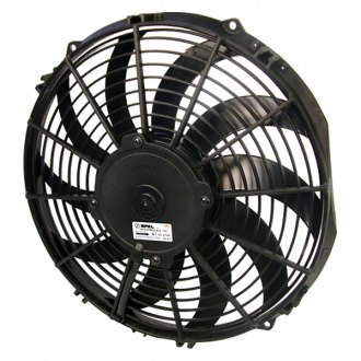 "SPAL Automotive® - 12"" Medium Profile Puller Fan with Curved Blades, 12V"