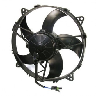 SPAL Automotive® - High Performance™ 11'' Puller Fan with Curved Blades