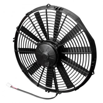 SPAL Automotive® - High Performance Pusher Fan with Straight Blades