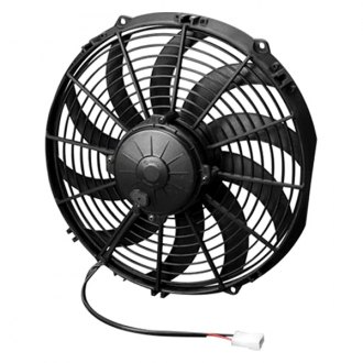 "SPAL Automotive® - 12"" High Performance Puller Fan with Curved Blades, 24V"