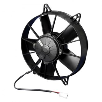 "SPAL Automotive® - 10"" High Performance Pusher Fan with Paddle Blades, 24V"
