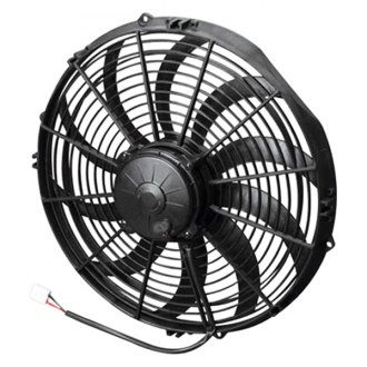 "SPAL Automotive® - 14"" High Performance Puller Fan with Curved Blades, 24V"