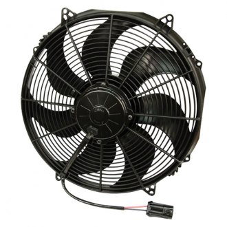 "SPAL Automotive® - 16"" Extreme Performance High Output Puller Fan with Curved Blades"