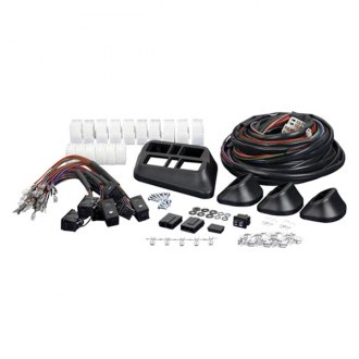 SPAL Automotive® - 7-Switch Kit with White LED Illumination