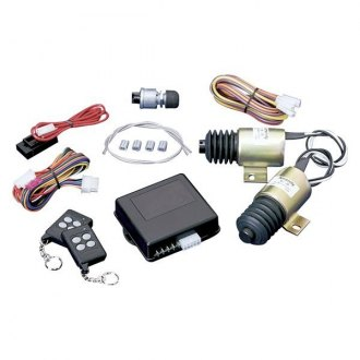 SPAL Automotive® - Shaved Door Kit with Two 40lb Solenoids