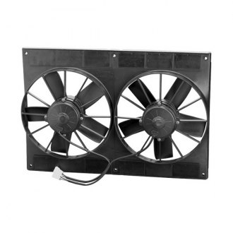 SPAL Automotive® - High Performance Puller Fan with Paddle Blades