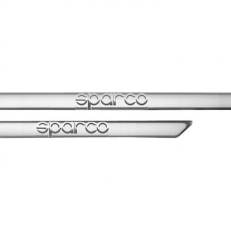 Sparco® - Silver Door Sills, Long, 605mm