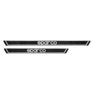 Sparco® - Carbon Look Door Sills, Long, 605mm