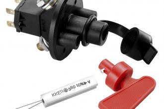 Sparco® - FIA Bipolar Master Battery Cutout Switch