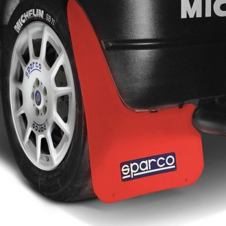 Sparco® - Red Mud Flaps