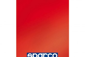 Sparco® - 28x47 cm Red Mud Flap
