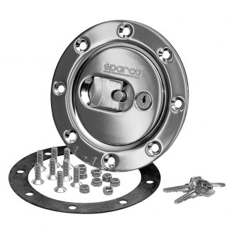 Sparco® - Locking Chrome Gas Cap