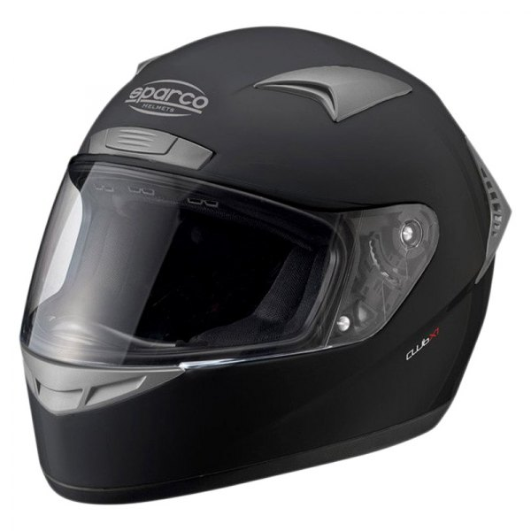 Sparco® - Club X-1 Full Face ATM (Advance Thermo Material) Black Racing Helmet, XS Size