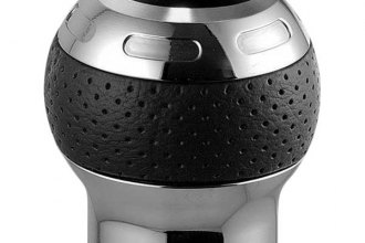 Sparco® - Globe-X Series Shift Knob, Silver/Black