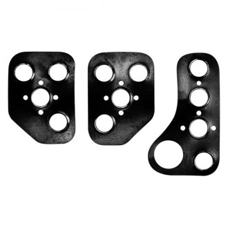 Sparco® - Corsa Series Manual Gear Racing Pedal Set, Shaped Short, Black