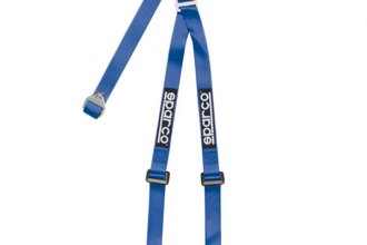 "Sparco® - 3 Point Bolt-In Fixing Buckle Latch Street Racing Harness (Pull down Style; 2""-2"")"