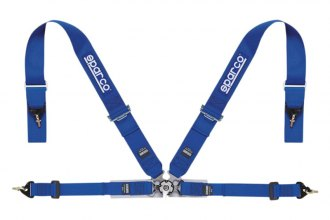 "Sparco® - 4 Points Single Shoulder Snap on Fixing Competition Harness (Pull Up Style; 3""-2""-No)"