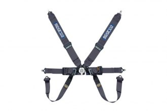 "Sparco® - 6 Points Individual Shoulder Bolt-In Fixing Competition Harness (Pull down Style; 3""-2""-2"")"