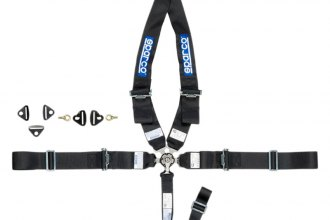 "Sparco® - 5 Point Type-1 Individual Shoulder Snap On Fixing Competition Harness (N/A Style; 3""-3""-2"")"
