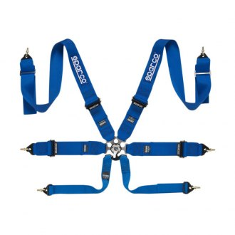 Sparco® - 6 Point Individual Shoulder Snap On Fixing Competition Harness