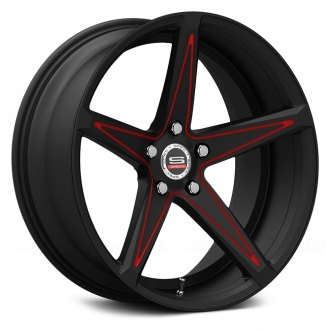 SPEC-1® - SPM-78 Gloss Black with Red Accents