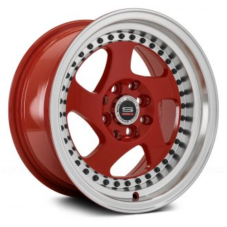 SPEC-1® - SPT-20 Red with Machined Lip and Black Rivets