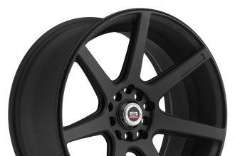 "SPEC-1® - SPT-6 Matte Black (17"" x 7.5"", +42 Offset, 5x114.3 Bolt Pattern, 73.1mm Hub)"