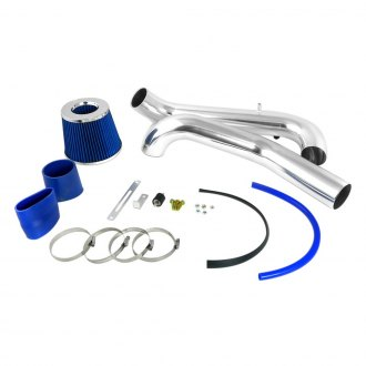 Spec-D® - Aluminum Chrome Cold Air Intake System with Blue Filter