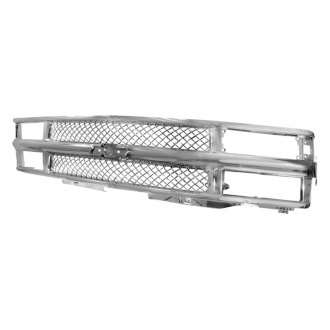 Spec-D® - Vertical Style Chrome Main Grille