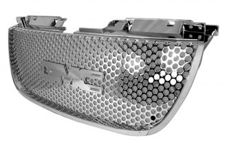 Spec-D® - Chrome Punch Mesh Grille