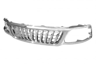 Spec-D® - Chrome Vertical Style Chrome Grille