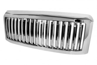 Spec-D® - Vertical Style Chrome Grille