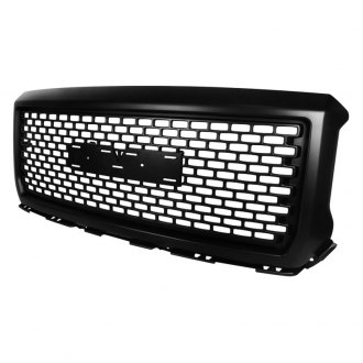 Spec-D® - Punch Hole Black Main Grille